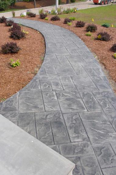Red Stamped Concrete Patio Outdoors Pinterest Stamped Concrete Stamped Concrete Patios